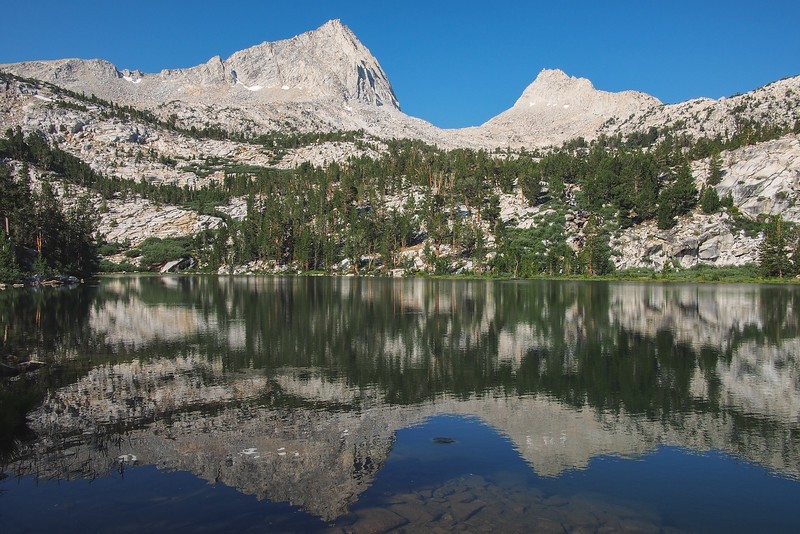 Honeymoon Lake, John Muir Wilderness, Eastern Sierra