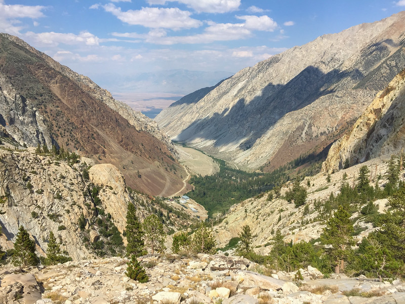 Pine Creek Pass trail & tungsten mine, Eastern Sierra Nevada
