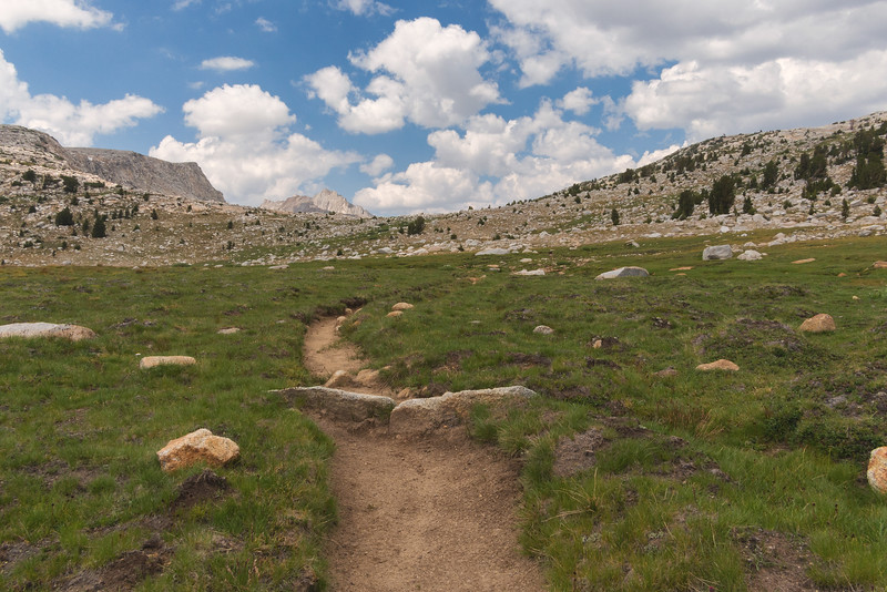 Pine Creek Pass trail, John Muir Wilderness