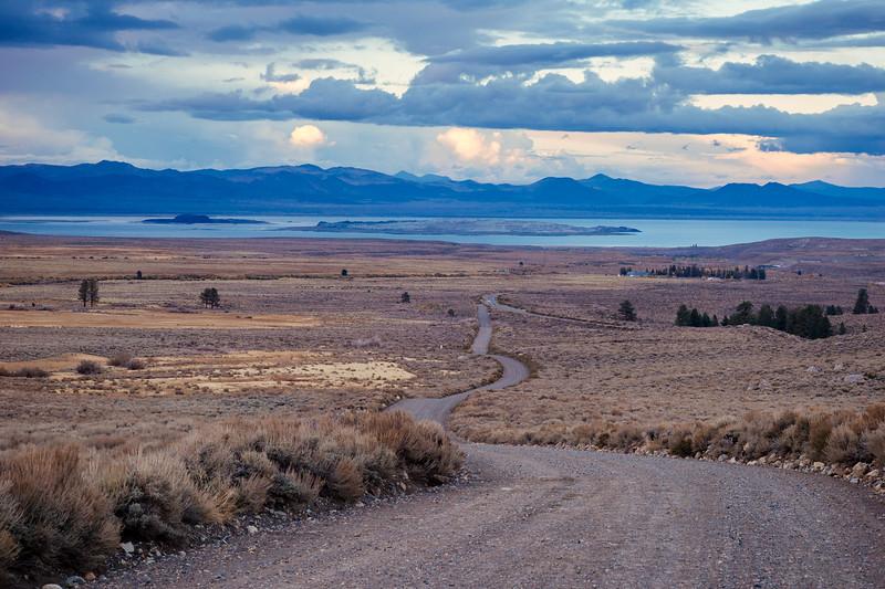 Mono Lake view from Park Lake Road, Eastern Sierra