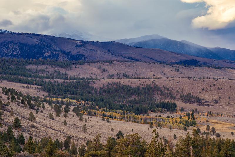 View from Parker Lake trail, Eastern Sierra