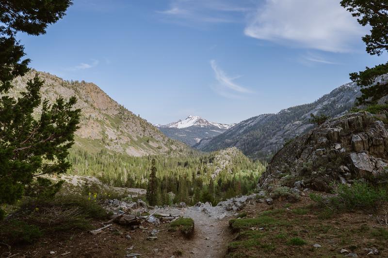 Mammoth Mountain view, John Muir Wilderness.
