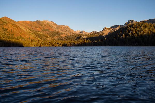 Lake Mary looking toward Duck Pass, Mammoth Lakes