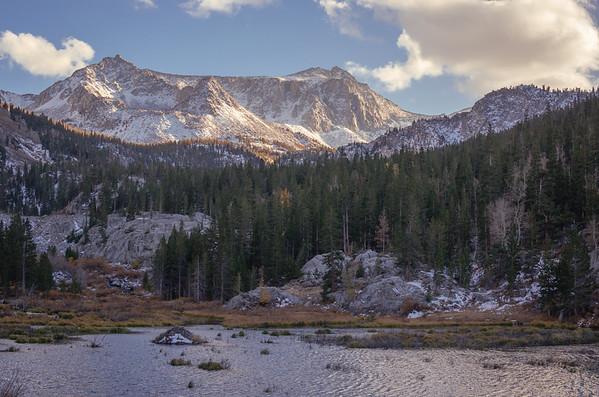 Beaver Pond, McGee Canyon, Eastern Sierra.