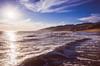 Will Rogers State Beach in Santa Monica, CA.