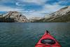 Kayaking Tenaya Lake, Yosemite