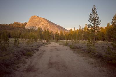 Lembert Dome at sunset, Yosemite