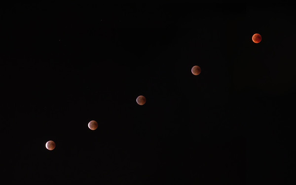 Eclipse of the moon july 2019