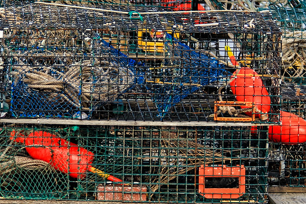 Crab Traps in Maine