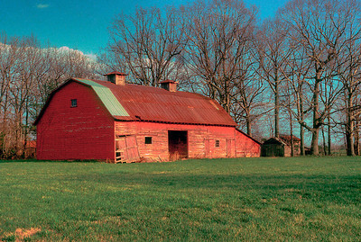 Steven's Old Red Barn