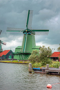 Green Windmill
