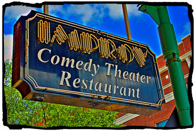 Improv Comedy Theater Restaurant