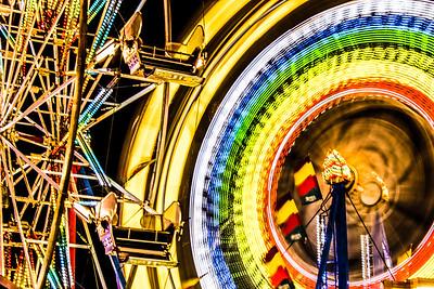 Dual Ferris Wheels