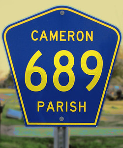 Cameron Road Sign