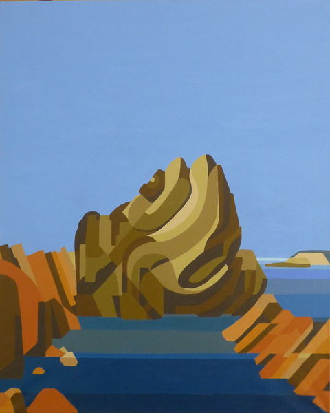 """""""Rocks"""" - Cormorants Rock"""