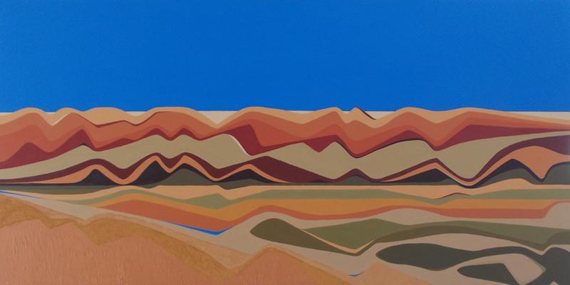 """Waves"" - Finke River"