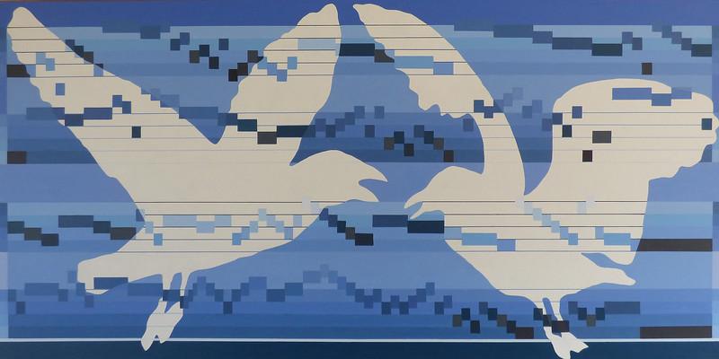 Score for (minimal two) birds - Fugue