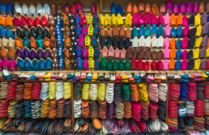 Fes Medina Shoes