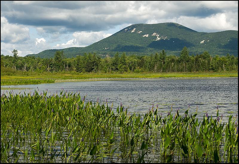 Blue Mountain above Rock Lake