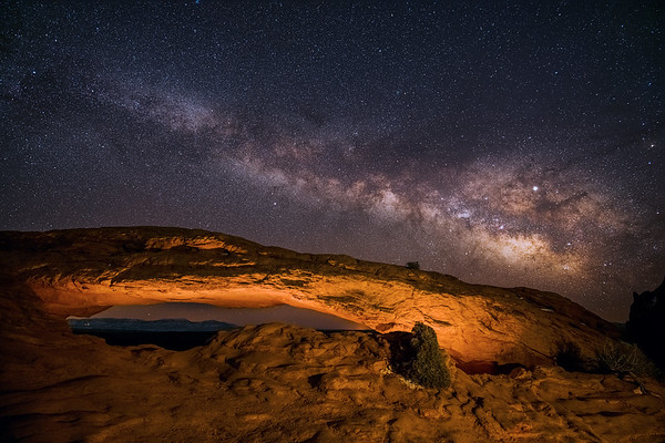Mesa Arch Milky Way