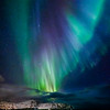 Dancing Northern Lights (Aurora Borealis) - Lofoten Islands Norway