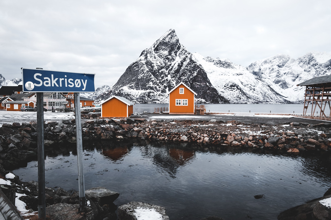 Sakrisoy - Lofoten Islands Norway