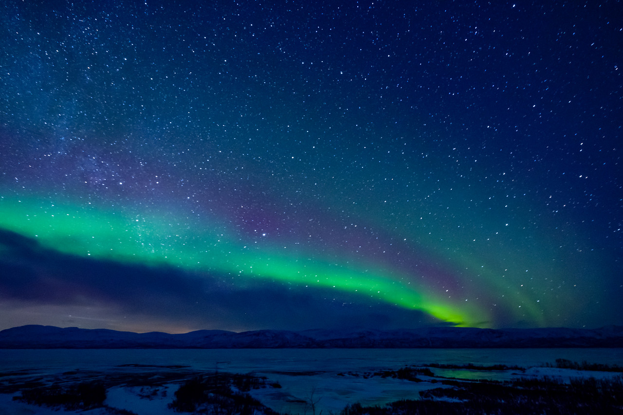 Northern Lights (Aurora Borealis) -Abisko National Park Sweden