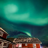 Northern Lights (Aurora Borealis) - Lofoten Islands Norway above our cabin