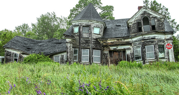 Abandoned in Maine