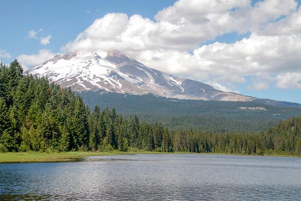 Trillium Lake and Mount Hood