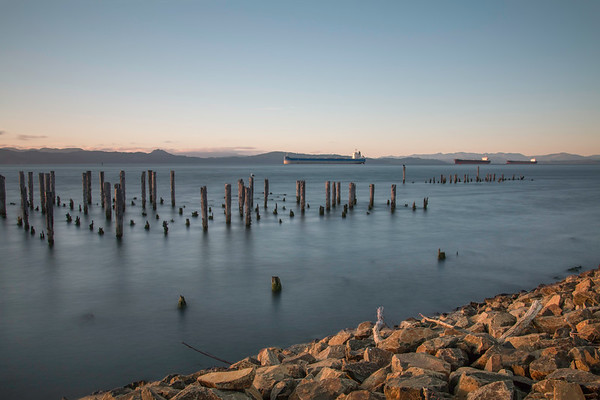 Dusk On The Columbia River