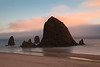 Dreamy Sunset at Haystack Rock