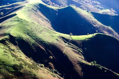 Le Mont Artzamendi en automne