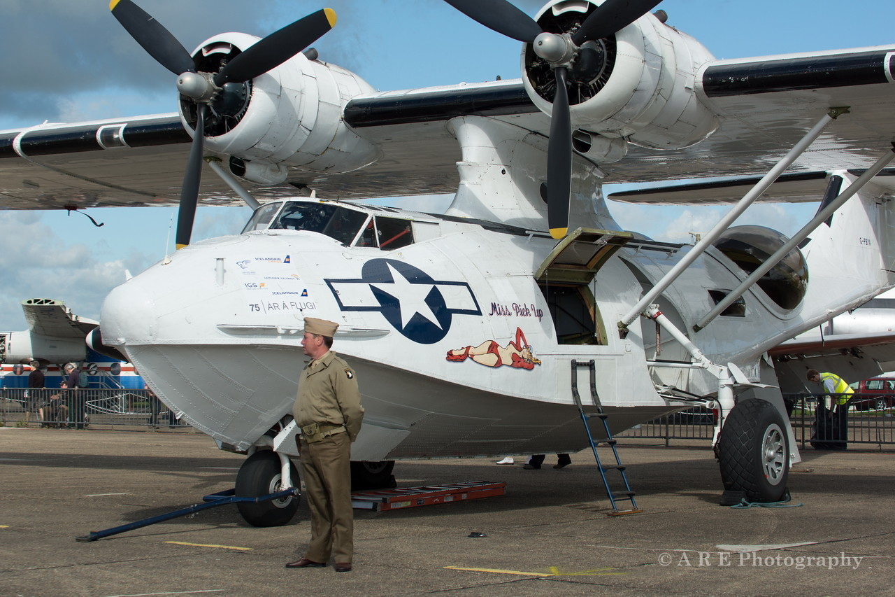 Catalina flying boat duxford