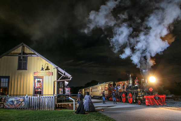 New Freedom PA Steam Train Station