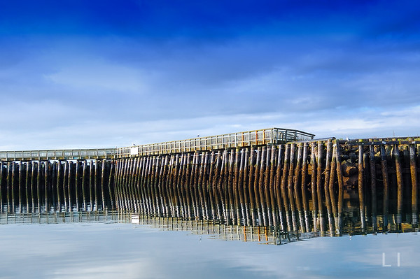 Pilings Reflections