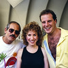 Los Angeles Philharmonic Violists Jerry Epstein and Evan Wilson with Latin Vocalist Lani Hall at the Hollywood Bowl