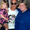 LA PHIL Violist Jerry Epstein and Daughter Jami Cakes with Rosemary Clooney backstage after rehearsal at the Hollywood Bowl