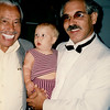 LA PHIL Violist Jerry Epstein and daughter Jami Cakes visit backstage with Crooner Cab Calloway before the concert starts at the Hollywood Bowl