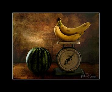 Bananas and Watermelon