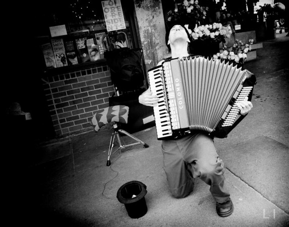 Accordion Busker