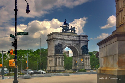 Soldiers and Sailors Memorial Arch at Grand Army Plaza