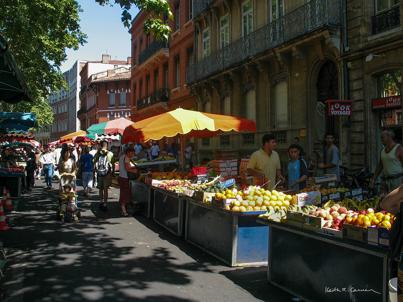 Farmers Market, Toulouse, France