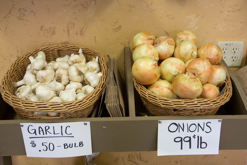 Garlic and Onions for sale