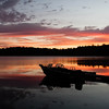 Sunrise at Damariscotta Lake