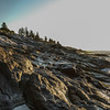 Pemaquid Point rocks and surf