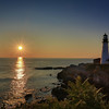 Sunrise at Portland Head Light