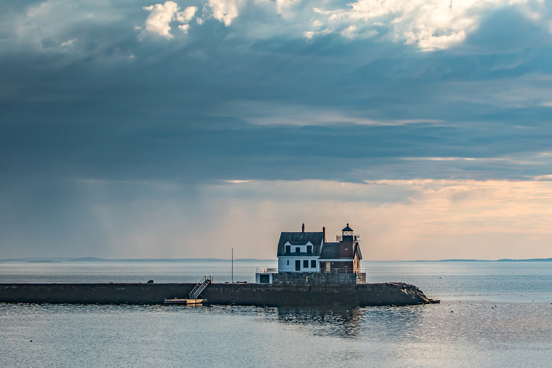Rockland breakwater and Light