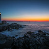 Portland Head Light at dawn