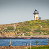 Pond Island Light, mouth of Kennebec River